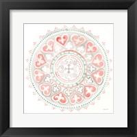 Mandala Delight III Framed Print