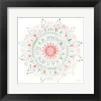 Mandala Delight I Framed Print