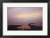 Framed Crescent Bay I