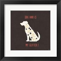 Framed Otomi Dogs V Dark