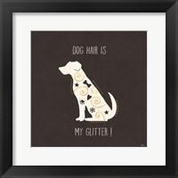 Framed Otomi Dogs V Dark Neutral