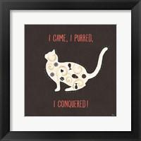 Framed Otomi Cats V Dark