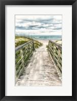 Framed Seaside Entry