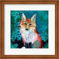 Framed Shy Fox