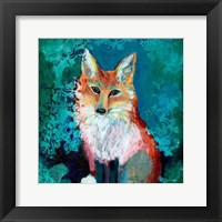 Framed Shy Fox