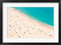 Framed Aerial Beach