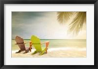 Framed Paradise Beach