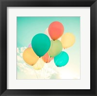 Framed Colorful Balloons