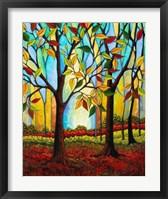 Framed Tree Color Change