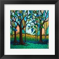 Framed Whispering Woods
