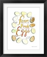 Framed Farm Fresh Eggs