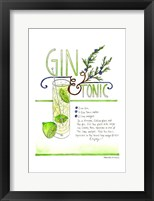 Framed Gin & Tonic