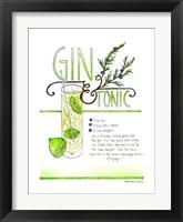 Framed Gin & Tonic