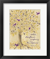 Framed Rooted In Thankfulness