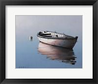 Framed Lonely Boat 2017