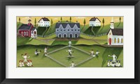 Framed Baseball Games