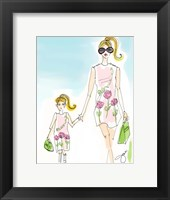 Framed Mommy And Me Pink