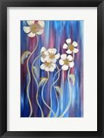 Framed Evening Flowers