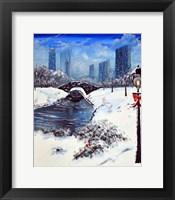 Framed NY Winter