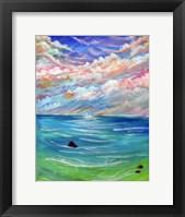 Framed Ocean Sky