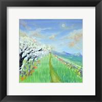 Framed Spring Road