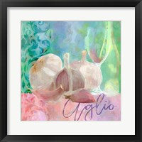 Framed Aglio - Garlic