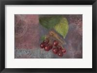 Framed Cherries - Fruit Series