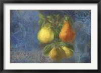 Framed Pears - Fruit Series
