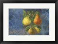 Framed Pears - Fruit Series