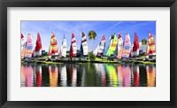 Framed Sailing Boat Port