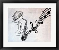 Framed Music in My Ears