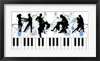 Framed Keyboard Dance