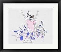 Framed Musical Ballerina