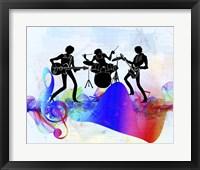 Framed Rock Band
