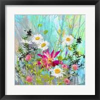 Framed Beautiful Wild Flower 3