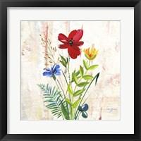 Framed Delicate Flowers