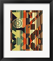 Framed Abstract 1V