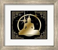 Framed Art Deco Buddha 3