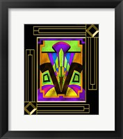 Framed Art Deco Design 5B