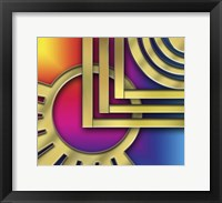 Framed Art Deco Design 24A