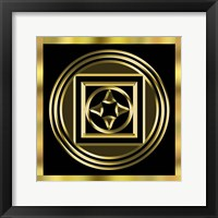 Framed Black And Gold 8