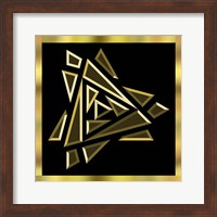 Framed Black And Gold 9