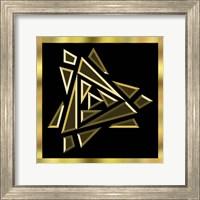 Framed Black And Gold 9