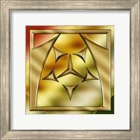 Framed Brass Design 2