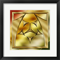 Framed Brass Design 2