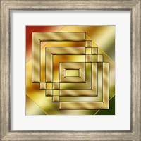 Framed Brass Design 4