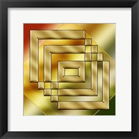 Framed Brass Design 4