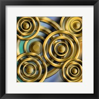 Framed Circles 3D