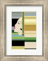 Framed Flapper Abstract