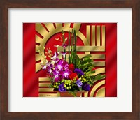 Framed Floral Arrangement